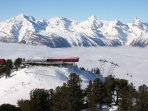 Spectacular and panoramic skiing in Nendaz!