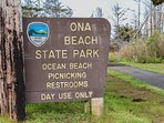 This stunning location is conveniently close to Ona State Park, and its facilities