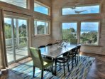 Artisan finishes  from floors to the walls themselves, enhance incredible views.