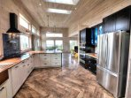 The finest in cabinetry and appliances in a beautiful state-of-the-art kitchen.