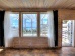 Beautiful floors,walls and ceilings frame enchanting vistas.