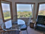 Ocean front views from two floors.