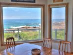Ocean view dining experience in Surfside House..