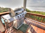 Family-sized grilling in the best setting ever.
