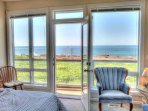 Great ocean views from all  bedrooms in the home.