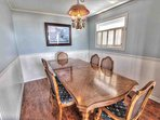 Dining space for all