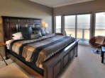 You will love the dramatic beach and ocean views from every bedroom.