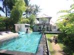 A 14m communal pool