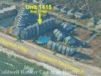 Aerial view showing location in Shipwatch Villas