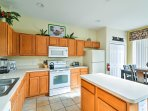 Whip up delicious home-cooked meals and snacks with ease in the fully equipped kitchen.