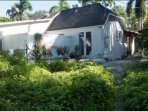 Bungalow is detached from the main home offering guests maximum privacy.