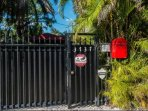 Gated entrance and security cameras for your safety.