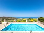 Villa Vaggelio - Located in the nature offering totally calm & quiet environment