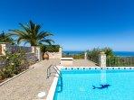 35 sq. m private swimming pool, enjoy the Sea view