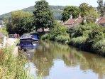 The Kennet & Avon Canal at Bathampton
