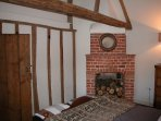 Original panelling in the double bedroom