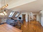 Villa Prule Penthouse - living area