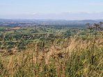 Bulbarrow Hill, at 900 feet above sea level, is one of the highest points in Dorset