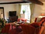Deep Knole sofas provide extra comfort