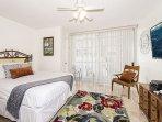 Queen Bedroom with Hawaiian Decor