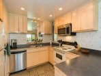 Prepare some tropical meals in this full kitchen