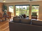The 1-bedroom, 2-bath vacation rental is a Hawaiian home-away-from-home for 4.