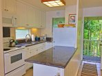 Whip up your favorite recipes in this fully equipped kitchen.