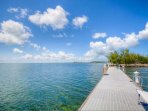 Unobstructed views of the beautiful Florida Bay.