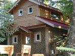 Cordwood Cabin at Terra Perma