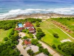 Aerial View of our Exclusive Beach Club