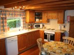 Kitchen includes, washer/dryer, electric oven/hob, microwave, dishwasher, fridge & a freezer