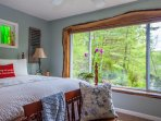 Your View from the master bedroom overlooking the pond.