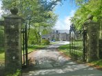 Entrance to Penstowe Manor