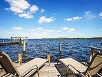 Lounge at the lake