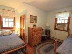 Second Floor Bedroom w/ 2 Twins