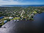 Location is everything and this home is on the historic Anclote River with direct access to the Gulf