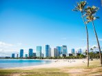 The Kaka'ako Skyline is Just a Few Minutes Away