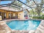 Wonderful pebble tech pool heated year round