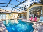 Enjoy the day at this great home with plenty of privacy