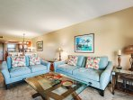 Ultra plush furniture in this completely renovated unit