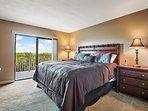 Master King Bedroom next to the inter coastal waterway