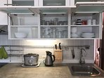 cocina totalmente equipada-lavavajillas-microondas-lavadora