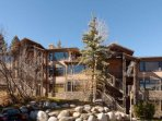 Our unit is in the closest Aspenwood building to the ski slopes.