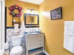 With 2 full bathrooms, everyone will have plenty of space to get ready each morning!
