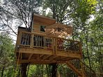 The Creek Treehouse from the front...  For more photos search the web.
