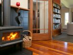 Fire for winter warmth. We also have a ducted heat pump for efficient warmth.