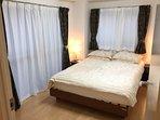 bedroom No.1, double type bed
