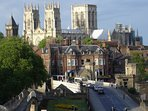 Historic York, a short drive or bus ride away
