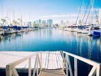 Take a Short Walk Around the Marina