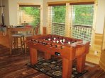 Game Room with Foosball Table at Southern Sunrise